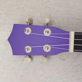 "Укулеле сопрано 21 "", deep purple, фото 4"