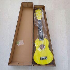 """Укулеле сопрано 21 """", yellow, фото 5"""