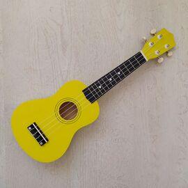 """Укулеле сопрано 21 """", yellow, фото"""