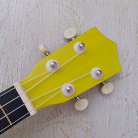 """Укулеле сопрано 21 """", yellow, фото 3"""