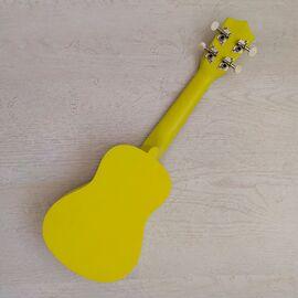 """Укулеле сопрано 21 """", yellow, фото 2"""