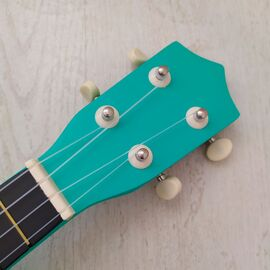 """Укулеле сопрано 21 """", green mint, фото 3"""