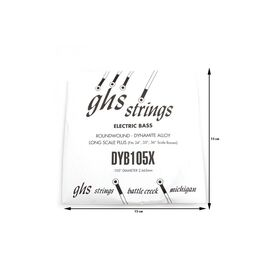 Одиночная струна для бас-гитары GHS STRINGS DYB105X, фото 2