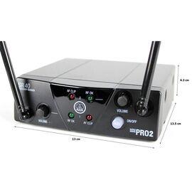 Микрофонная радиосистема AKG WMS40 Mini2 Vocal Set BD US25a/b, фото 2