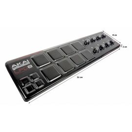MIDI контроллер AKAI LPD-8, фото 2