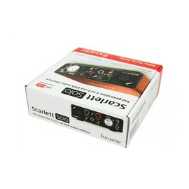 Аудіоінтерфейс 2 входи / 2 виходи USB FOCUSRITE SCARLETT SOLO, фото 10