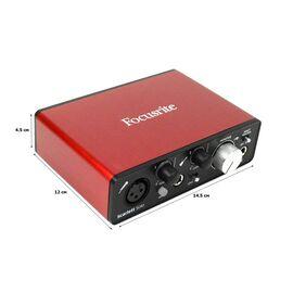 Аудіоінтерфейс 2 входи / 2 виходи USB FOCUSRITE SCARLETT SOLO, фото 2