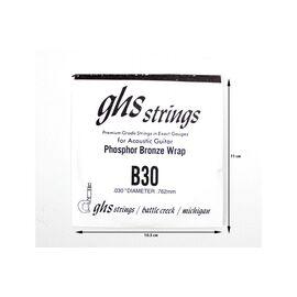 Одиночная струна GHS STRINGS B30, фото 2