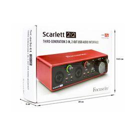 Аудіоінтерфейс FOCUSRITE Scarlett 2i2 3rd Gen, фото 2