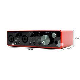 Комплект для звукозаписи FOCUSRITE Scarlett 2i2 Studio 3rd Gen, фото 12