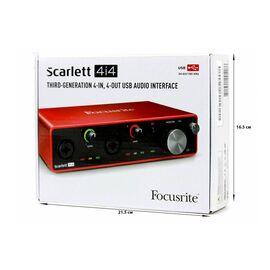Аудіоінтерфейс FOCUSRITE Scarlett 4i4 3rd Gen, фото 2