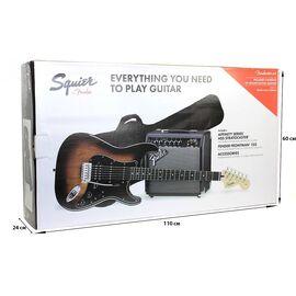 Гитарный набор SQUIER by FENDER AFFINITY SERIES STRAT HSS PACK LR BS GIG BAG 15G, фото 10