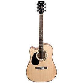 Електро-акустична гітара CORT AD880CE LH (Natural Satin), фото