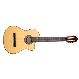 4/4 Классическая гитара с вырезом и подключением VALENCIA VC564CE, фото 2