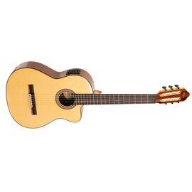 4/4 Классическая гитара с вырезом и подключением VALENCIA VC564CE, фото 3