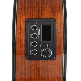 4/4 Классическая гитара с вырезом и подключением VALENCIA VC564CE, фото 6