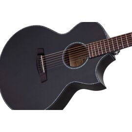 Акустическая 7-и струнная гитара с вырезом и подключением SCHECTER ORLEANS STAGE-7 SSTBLK, фото 3