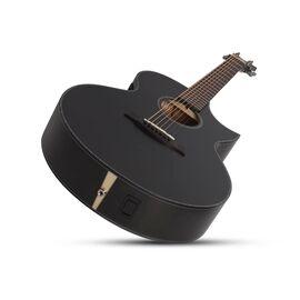 Акустическая 7-и струнная гитара с вырезом и подключением SCHECTER ORLEANS STAGE-7 SSTBLK, фото 5