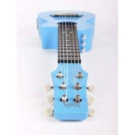 Электроакустическая тревел гитара (гитарлеле) Korala PUG-40E-LBU, фото 5