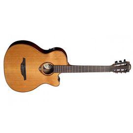 Електроакустична гітара з нейлоновими струнами Lag Tramontane TN100ACE, фото