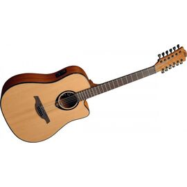 Гитара электроакустическая Lag Tramontane T66D12CE, фото