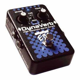 Бас-гитарная/гитарная/клавишная/вокальная педаль эффектов EBS DynaVerb, фото