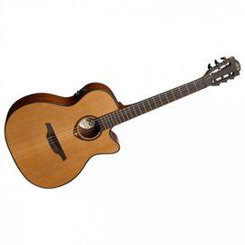 Електроакустична гітара з нейлоновими струнами Lag Tramontane TN200A14CE, фото