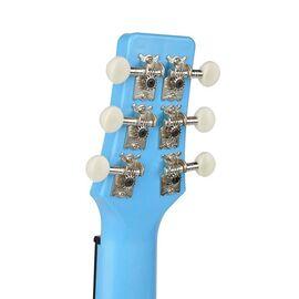 Электроакустическая тревел гитара (гитарлеле) Korala PUG-40E-LBU, фото 3