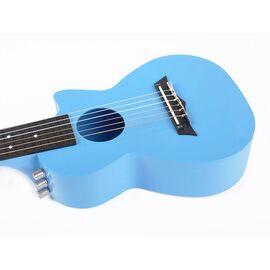 Электроакустическая тревел гитара (гитарлеле) Korala PUG-40E-LBU, фото 2