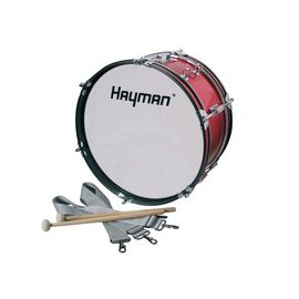 Маршoвый бас-барабан Hayman JMDR-1607 Bass drum, фото