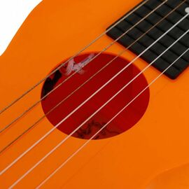 Электроакустическая тревел гитара (гитарлеле) Korala PUG-40E-OR, фото 13