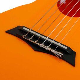 Электроакустическая тревел гитара (гитарлеле) Korala PUG-40E-OR, фото 12