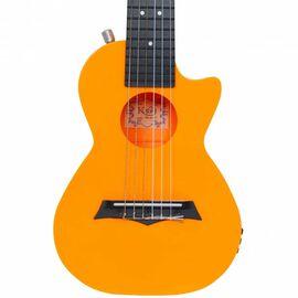 Электроакустическая тревел гитара (гитарлеле) Korala PUG-40E-OR, фото 3