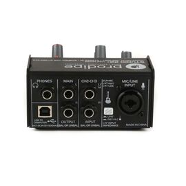 USB-Аудиоинтерфейс / звуковая карта Prodipe Studio 22+, фото 4