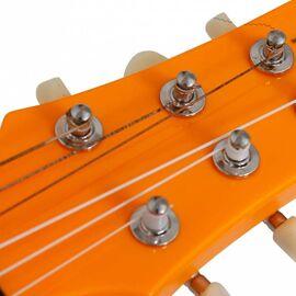 Электроакустическая тревел гитара (гитарлеле) Korala PUG-40E-OR, фото 19