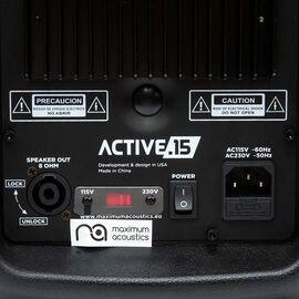 Активная акустическая система Maximum Acoustics ACTIVE.15, фото 8