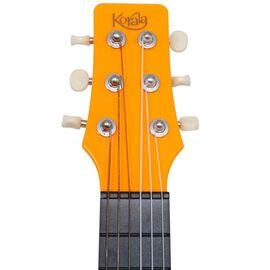 Электроакустическая тревел гитара (гитарлеле) Korala PUG-40E-OR, фото 7