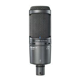 Студийный микрофон Audio Technica AT2020USB+, конденсаторный, кардиоидный, фото