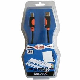 USB-кабель Bespeco Silos SLAB180, фото 3