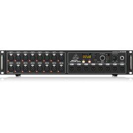 Цифровой сценический модуль Behringer S16, 16 микрофонных предусилителя, 8 XLR выходов, фото
