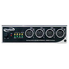 USB MIDI Аудиоинтерфейс / звуковая карта Prodipe 4in/4out, фото 2