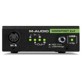 Аудиоинтерфейс M-Audio MidiSport 2X2, фото