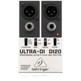 Директ-бокс Behringer Ultra-DI DI20, фото