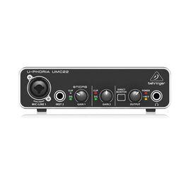 Аудиоинтерфейс Behringer U-Phoria UMC22, фото