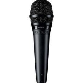 Инструментальный микрофон Shure PGA57 XLR, динамический, кардиоидный, фото