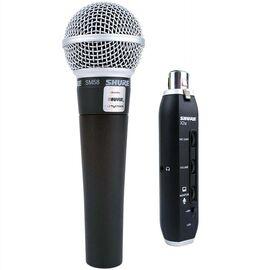 Вокальний мікрофон Shure SM58 X2u, динамічний, кардіоїдний, фото