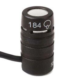 Петличный микрофон Shure WL184, конденсаторный, суперкардиоидный, фото