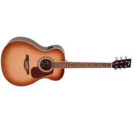 Гітара електроакустична Vintage VE300SB, фото 4