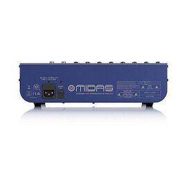 Аналоговий мікшер Midas DM12, 8 моно + 2 стерео входу, 8 мікрофонних передпідсилювачів, фото 3