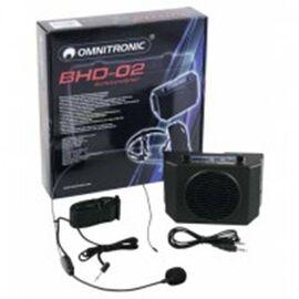 Портативная акустическая система Omnitronic BHD-02, фото 4